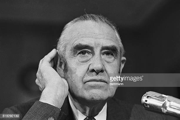 Former Ambassador to Russia W Averell Harriman appearing before the Senate Foreign Relations Committee endorsed a proposal by Democratic Senator Mike...
