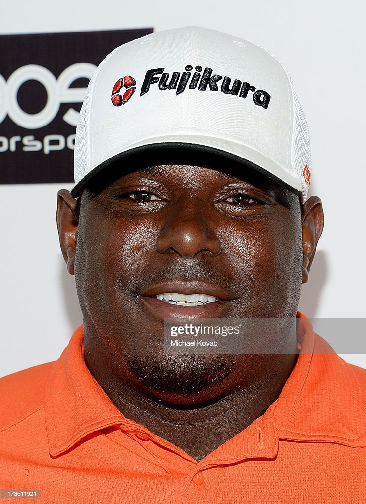 Former American football tight end Byron Chamberlain attends The 4th annual Alex Thomas Celebrity Golf Classic presented by Belvedere at Mountain Gate Country Club on July 15, 2013 in Los Angeles, California.