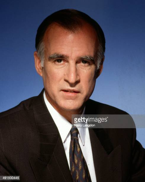 Former and future Governor of California Jerry Brown poses for a portrait session circa 1992 in Los Angeles California