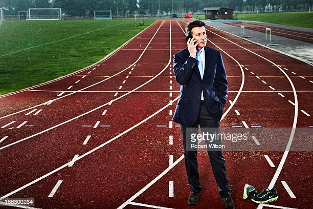 Former athlete and head of the organising committee for the London 2012 Olympic Games sebastian coe is photographed for The Times on October 11 2012...