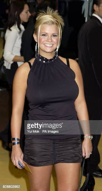Former Atomic Kitten member Kerry McFadden attends the premiere of Bad Boys II at the Odeon Leicester Square in central London The 10 celebrities...