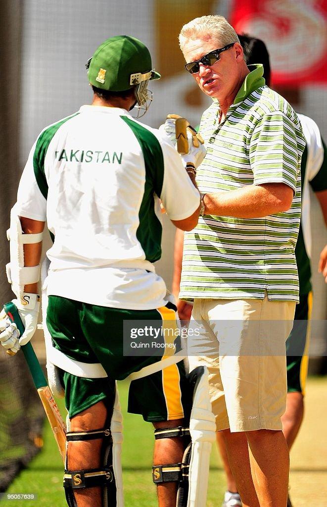 Pakistan Nets Session