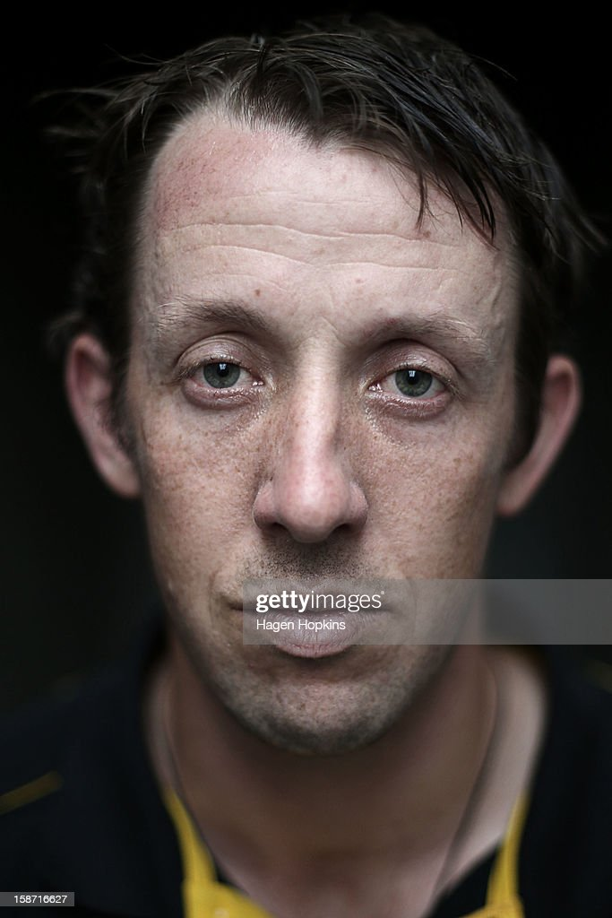 Former Australian International cricketer <a gi-track='captionPersonalityLinkClicked' href=/galleries/search?phrase=Luke+Ronchi&family=editorial&specificpeople=724790 ng-click='$event.stopPropagation()'>Luke Ronchi</a> poses for a portrait at Hawkins Basin Reserve on December 26, 2012 in Wellington, New Zealand.
