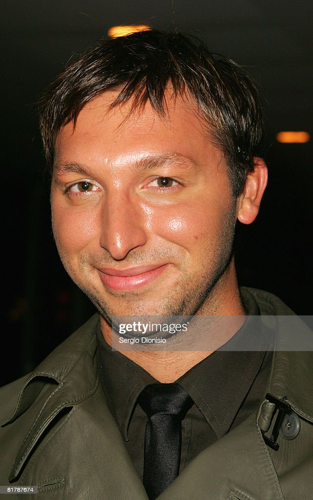 Former Australian swimmer <a gi-track='captionPersonalityLinkClicked' href=/galleries/search?phrase=Ian+Thorpe&family=editorial&specificpeople=162699 ng-click='$event.stopPropagation()'>Ian Thorpe</a> attends the final to announce the winner of Australia's Next Top Model at Luna Park on July 1, 2008 in Sydney, Australia.