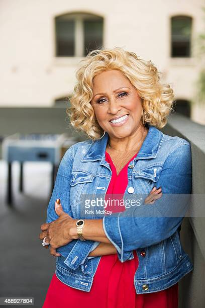 Former background singer featured in '20 Feet From Stardom' Darlene Love is photographed for Los Angeles Times on September 15 2015 in Los Angeles...