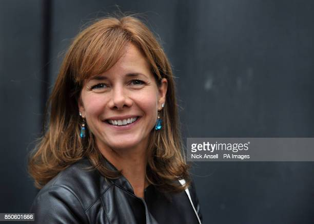 Former ballerina Darcey Bussell and current judge on the Strictly Come Dancing during the unveiling of an English Heritage blue plaque to commemorate...