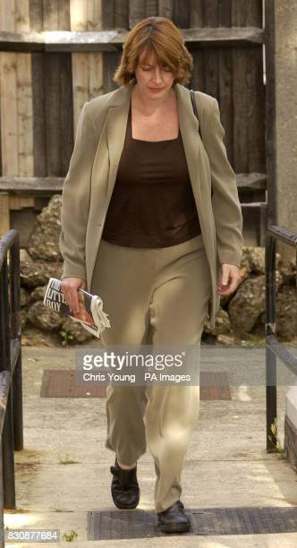 Former bank manager Nicola Walkling of Bengeo Hertfordshire leaves Hendon Magistrates Court where she was accused of theft and fraud totalling more...