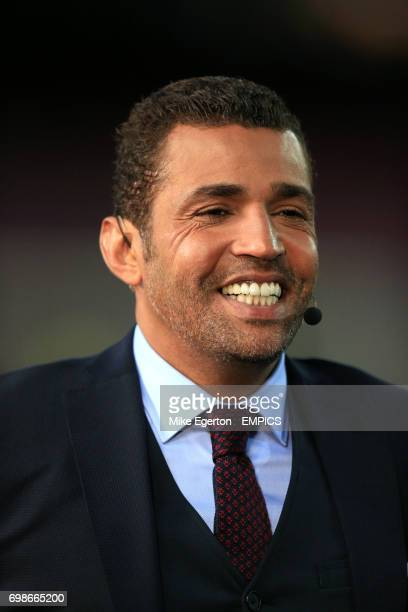 Former Barcelona player and beIN sports pundit Sonny Anderson