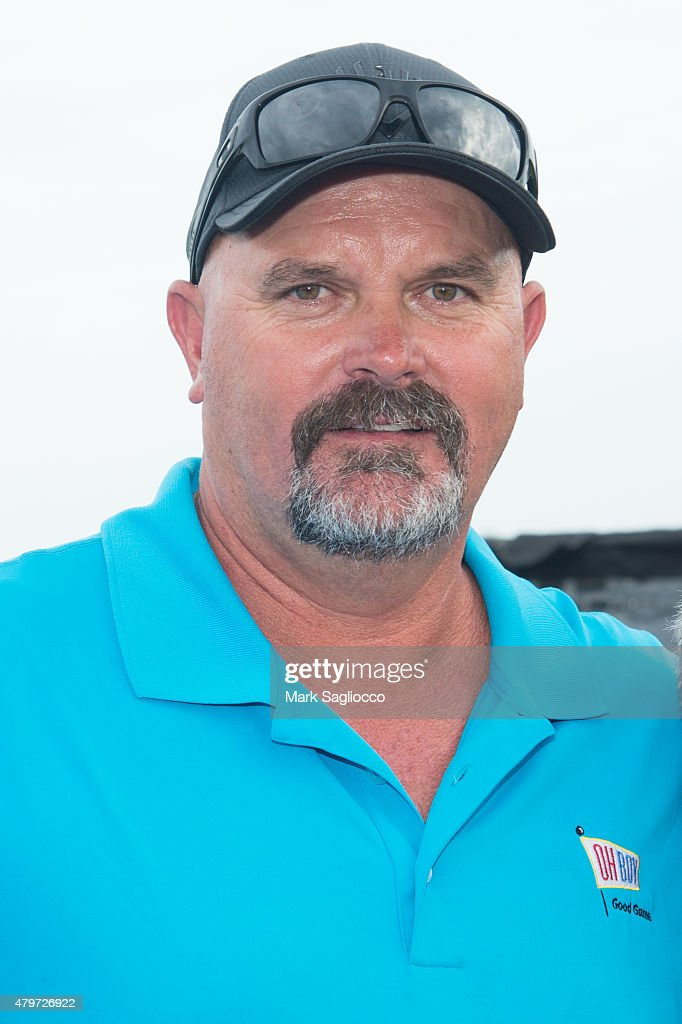Former Baseball Player <a gi-track='captionPersonalityLinkClicked' href=/galleries/search?phrase=David+Wells+-+Baseball+Player&family=editorial&specificpeople=202481 ng-click='$event.stopPropagation()'>David Wells</a> attends the 2015 Hank's Yanks Golf Classic at the Trump Golf Links Ferry Point on July 6, 2015 in New York City.