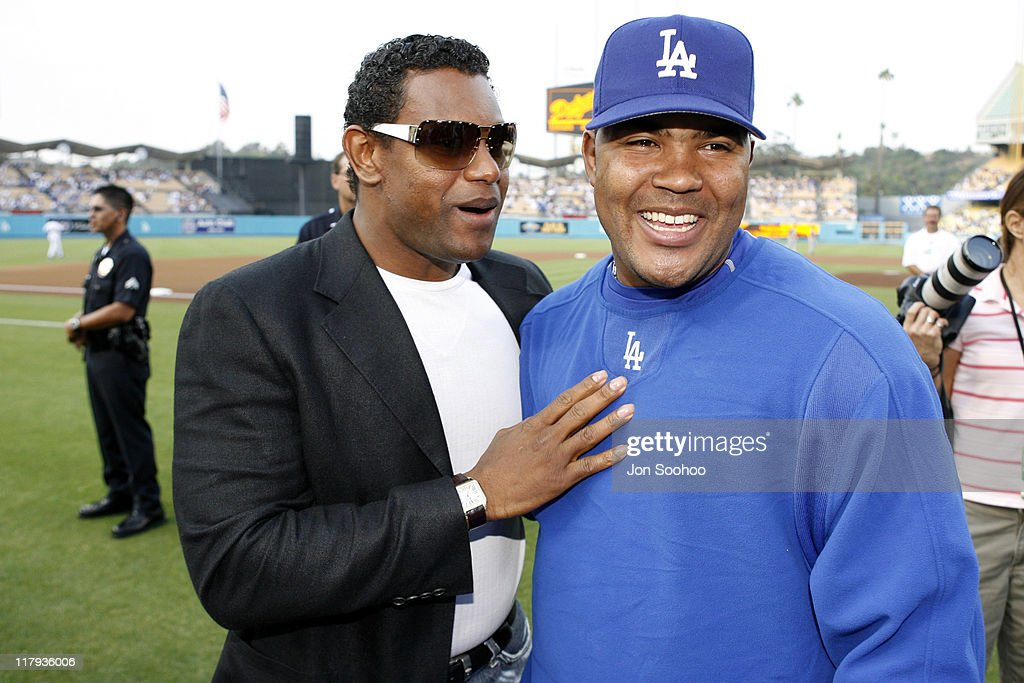 Los Angeles Dodgers Host Hollywood Stars Night - June 24, 2006