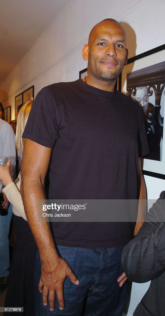 Former basketball player John Amaechi attends the private view for photographer Cambridge Jones' new exhibition 'Face The Music' at Proud Central on...