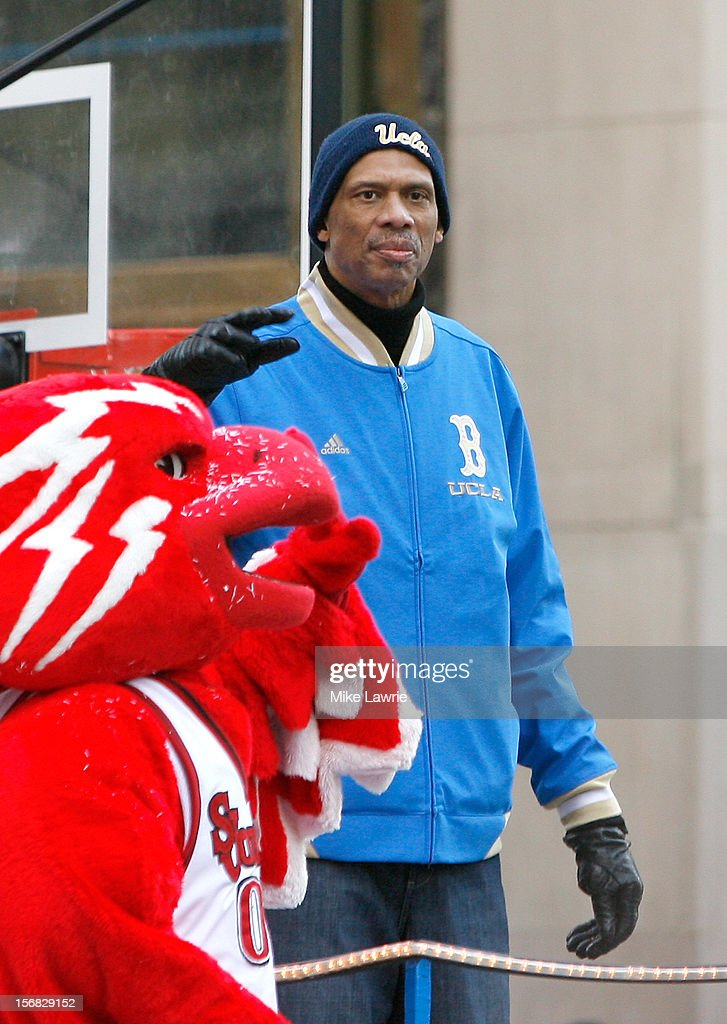 Former basketball player Kareem Abdul-Jabbar attends the 86th Annual Macy's Thanksgiving Day Parade on November 22, 2012 in New York City.