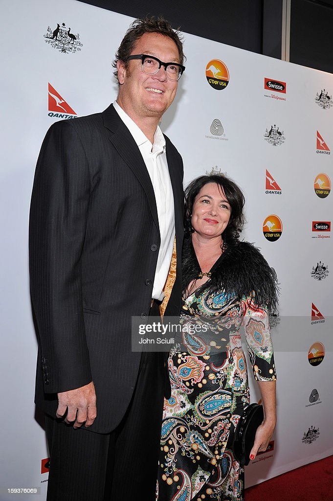 2013 G'Day USA Los Angeles Black Tie Gala - Red Carpet