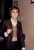Former Beatle John Lennon poses for a photo circa 1973 in New York City New York