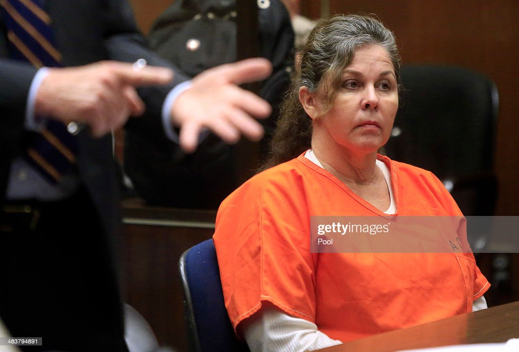 Former Bell assistant city administrator Angela Spaccia listens during sentencing April 10, 2014 in Los Angeles, California. Spaccia was sentenced to 11 years and eight months in prison for bilking the city's coffers of thousands of dollars through an exorbitant salary and a pair of six-figure loans of taxpayer money. Los Angeles Superior Court Judge Kathleen Kennedy called Spaccia a 'con artist'' during the sentencing hearing, rejecting Spaccia's claim that she was a victim of former Bell administrator Robert Rizzo. The sentencing came one day after five former Bell city officials accepted plea deals that will cap their prison terms at four years.