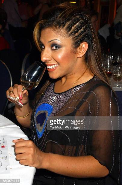 Former Big Brother contestant Narinder Kaur at the Hardy's wine Charity EveningThe Evening was in Aid of the Breast cancer campaign