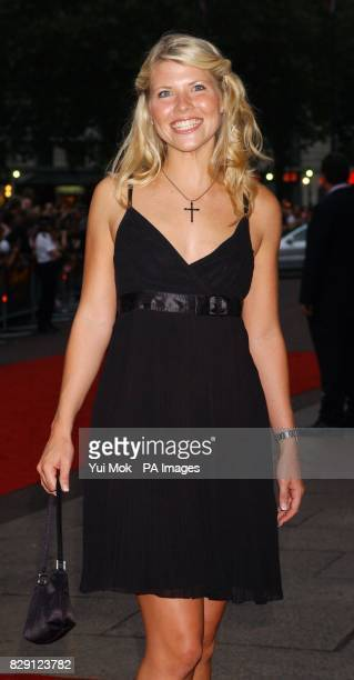 Former Big Brother housemate Vanessa Nimmo arrives for the premiere of The Chronicles Of Riddick at the Vue West End in Leicester Square central...