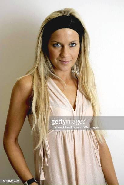 Former Big Brother winner Kate Lawler promotes Spray Tan Express