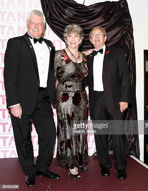 Former 'Blue Peter' presenters Peter Purves Valerie Singleton and John Noakes attend the National Television Awards 2008 at the Royal Albert Hall on...