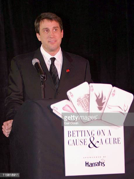 Former Boston Bruin Cam Neely speaks at the podium during the 2nd Annual Monte Carlo Weekend at the Charles Hotel in Cambridge MA Saturday January 31...
