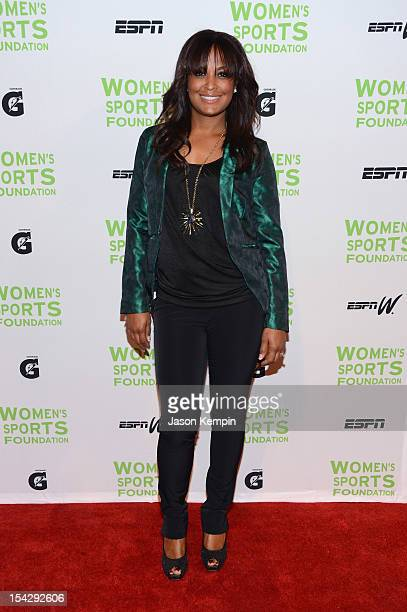 Former boxer Laila Ali attends the 33rd Annual Salute To Women In Sports Gala at Cipriani Wall Street on October 17 2012 in New York City