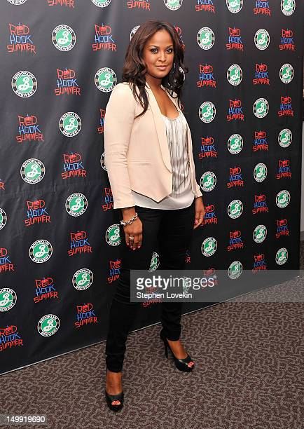 Former boxer/TV personality Laila Ali attends the 'Red Hook Summer' premiere at the DGA Theater on August 6 2012 in New York City