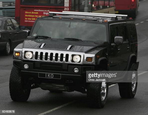 Former boxing champion Chris Eubank arrives for his court hearing charged with aggravated vehicle taking and driving away and driving without...