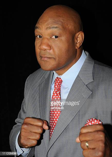 Former Boxing Champion George Foreman of 'Family Foreman' during the 2008 Summer Television Critics Association Press Tour for MTVN held at the...