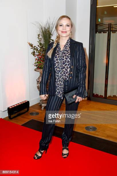 Former boxing champion Regina Halmich attends the German Boxing Awards 2017 on October 8 2017 in Hamburg Germany