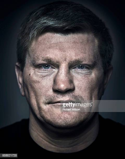 Former boxing champion Ricky Hatton is photographed for the Times on May 14 2015 in Manchester England