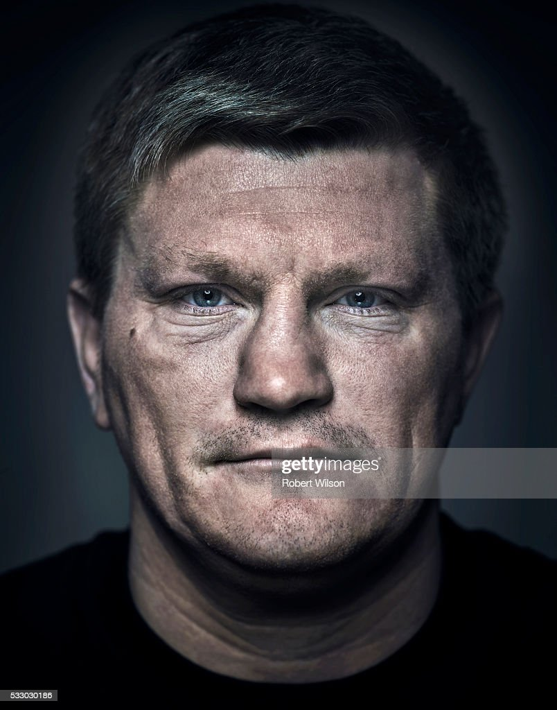 Former boxing champion <a gi-track='captionPersonalityLinkClicked' href=/galleries/search?phrase=Ricky+Hatton&family=editorial&specificpeople=208674 ng-click='$event.stopPropagation()'>Ricky Hatton</a> is photographed for the Times on May 14, 2015 in Manchester, England.