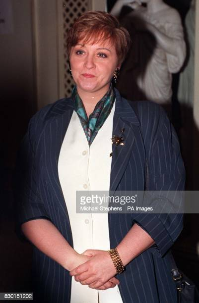 Former breakfast television presenter Anne Diamond arrives at the Grosvenor Hotel in London for the Television and Radio Industries Club Awards
