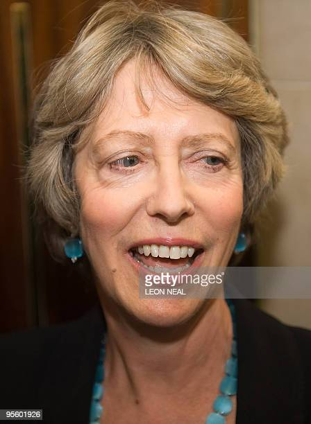 Former British Minister Patricia Hewitt is pictured in Millbank media studios in London on January 6 2010 Two former ministers called Wednesday for a...