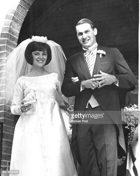 Former Buff Wed Gale Thorpe Weidner Jr University of Colorado quarter­back who led the Buffs to a 1961 Big 8 title was married to Miss Paula Lynne...