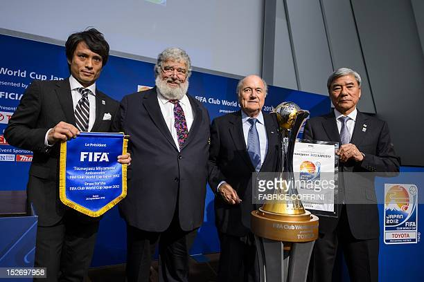 Former captain of the Japanese national team Tsuneyasu Miyamoto Confederation of North Central American and Carribean Association Football General...