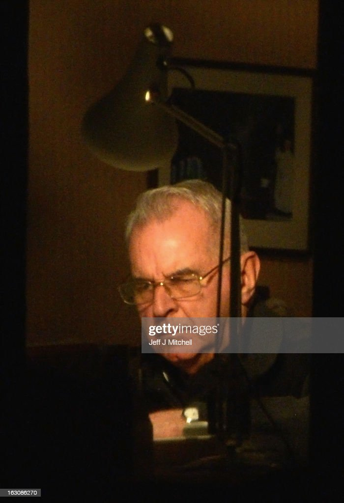 Former Cardinal Keith O'Brien sits in his office at his official residence on February 27, 2013 in Edinburgh, Scotland. The former Cardinal who was Britain's most senior Roman Catholic and head of the Scottish Catholic Church, resigned following allegations from three priests and one former priest of inappropriate behavior.