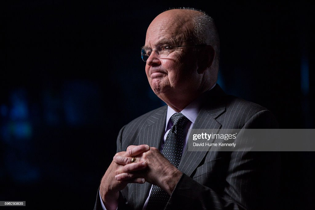 Former Central Intelligence Agency Director Gen Michael Hayden who served under Presidents George W Bush and Barack Obama is interviewed for the...
