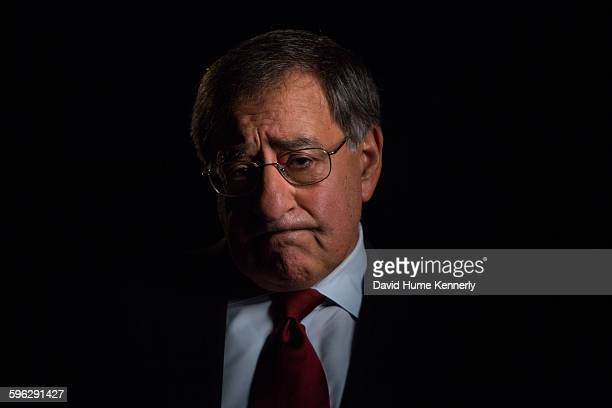 Former Central Intelligence Agency Director under President Barack Obama Leon Panetta is interviewed by Chris Whipple for 'The Spymasters' a...