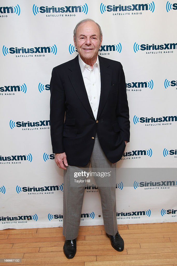 Former CEO of Capitol Records/EMI <a gi-track='captionPersonalityLinkClicked' href=/galleries/search?phrase=Joe+Smith+-+Music+Executive&family=editorial&specificpeople=15007488 ng-click='$event.stopPropagation()'>Joe Smith</a> promotes his book 'Off the Record: an Oral History of Popular Music' at SiriusXM Studios on April 15, 2013 in New York City.