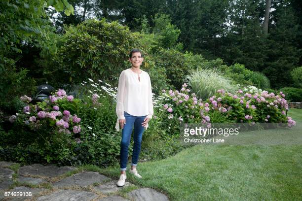 Former CEO of Chanel and author Maureen Chiquet is photographed for The London Times on July 13 2017 in Purchase New York