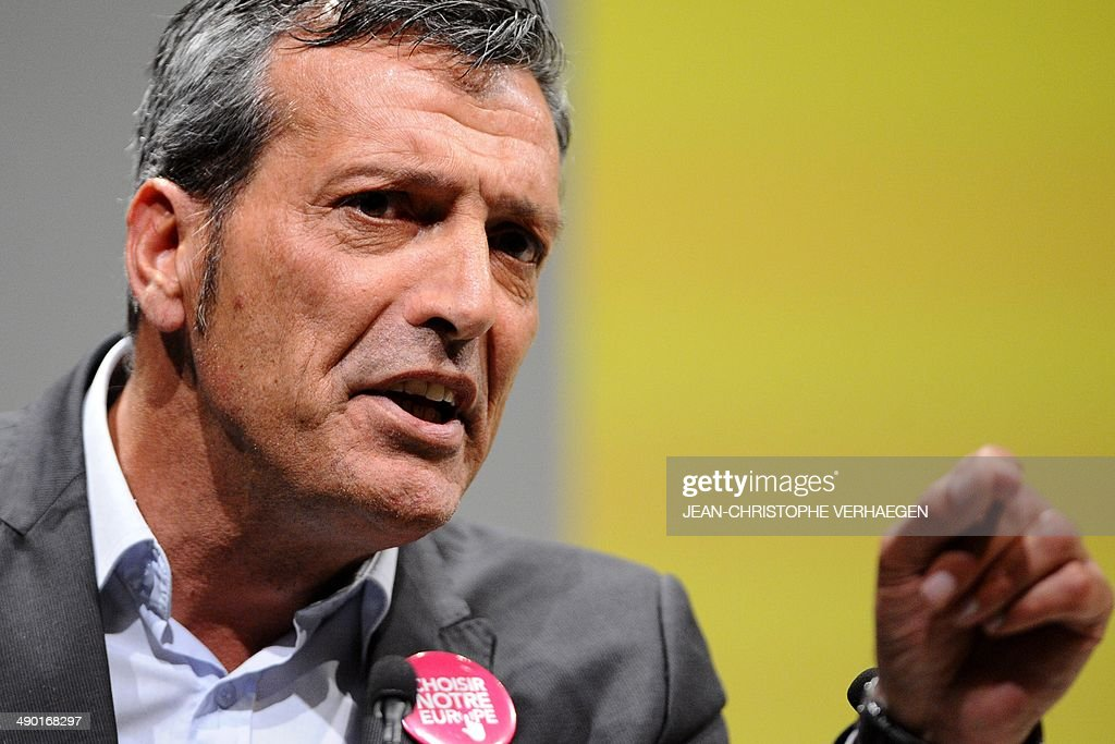 Former CFDT unionist of ArcelorMittal Florange and socialist party's candidate for European elections in the great eastern constituency Edouard...
