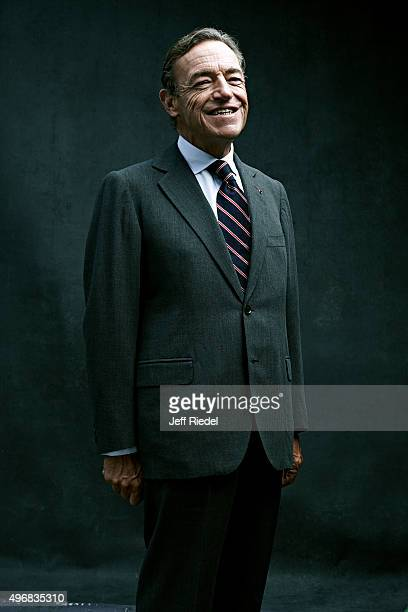 Former Chairman and CEO of L'Oreal Lindsay OwenJones is photographed for WWD's Beauty Inc Magazine on October 3 2011 in New York City