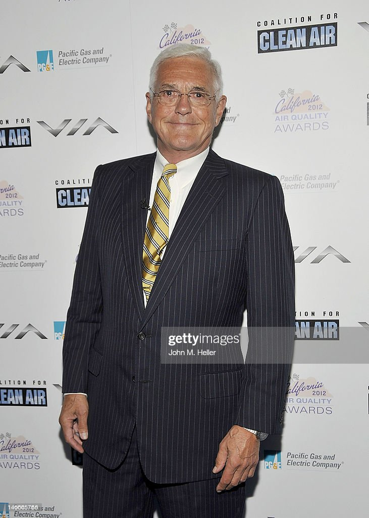 Former Chairman of the Board of General Motors <a gi-track='captionPersonalityLinkClicked' href=/galleries/search?phrase=Bob+Lutz&family=editorial&specificpeople=226686 ng-click='$event.stopPropagation()'>Bob Lutz</a> arrives at the 2012 California Air Quality Awards at the Petersen Automotive Museum on June 21, 2012 in Los Angeles, California.