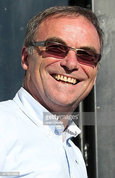 Former champion Bernard Hinault of France attends the Stage 1 of the ParisNice 2014 race on March 9 2014 in ManteslaJolie France