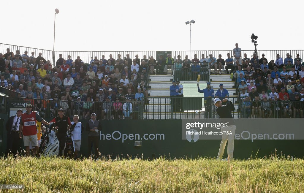 143rd Open Championship - Day One