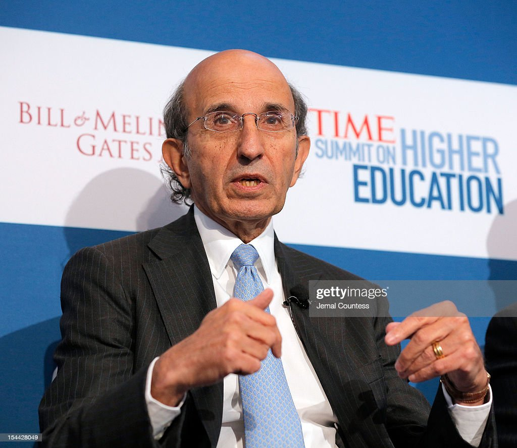 Former Chancellor of the New York City Department of Education Joel Klein speaks on the 'From Acceptance Letter to Diploma:Ensuring Access and Success' panal during the TIME Summit On Higher Education on October 18, 2012 in New York City.