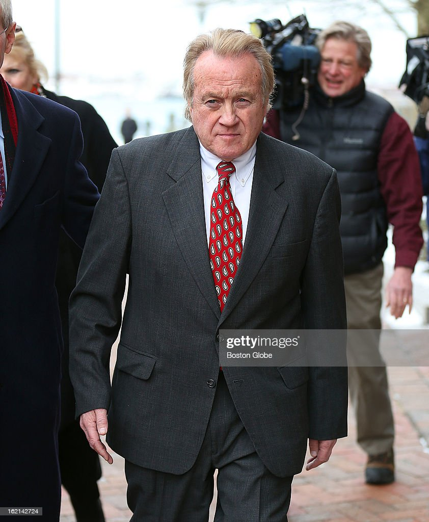 Former Chelsea Housing Authority chief Michael McLaughlin leaves Moakley Federal Court after a hearing in which he pleaded guilty to four counts of deliberately concealing his ­inflated salary from state and federal regulators from 2008 until he was forced to resign in 2011.