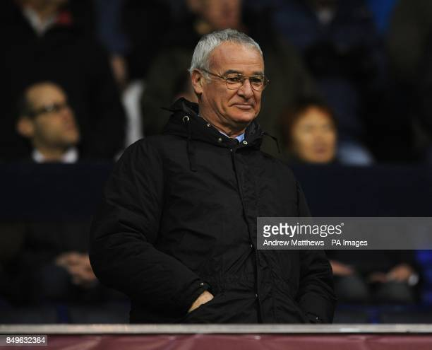Former Chelsea manager Claudio Ranieri in the stands