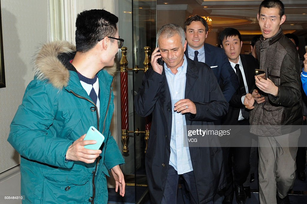 Jose Mourinho Visits Shanghai : News Photo
