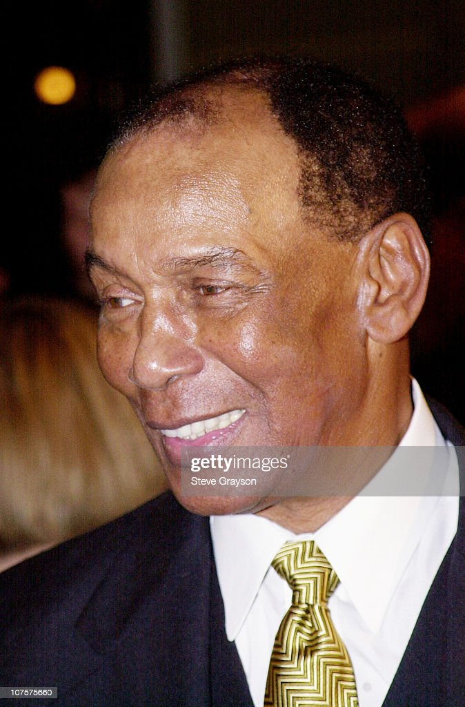 Former Chicago Cub great Ernie Banks poses at the Childrens Miracle Network and Childrens Hospital Celebration of Champions fundraiser held at the...